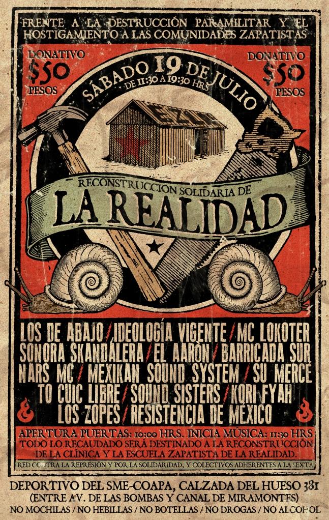 Flyer Proyecto EZLN - Gran OM